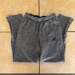 Adidas Climawarm Gray Sweatpants Small